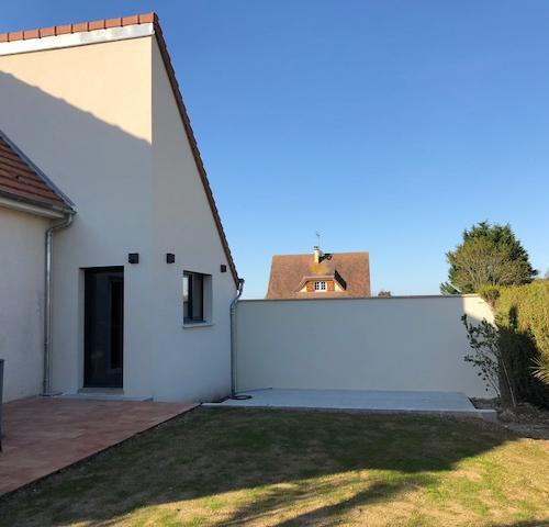 Agrandir sa maison à Deauville