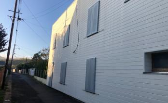Rénovation des volets en aluminium d'une maison à Deauville