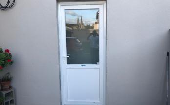 Changement de porte d'entrée à Deauville