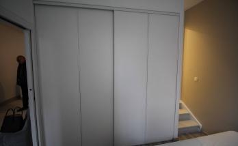 Installation d'un dressing à Deauville