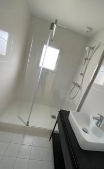 Rénovation complète d'une salle de bain à Deauville