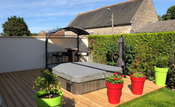 Installation d'un spa à Deauville