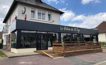 Rénovation d'un bar à Deauville