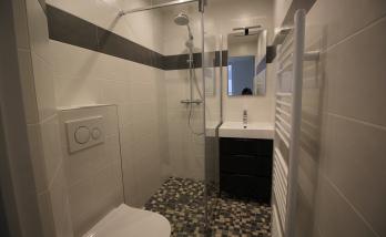 Rénovation de salle de bain à Trouville