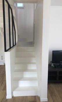 Rénovation d'un escalier à Deauville