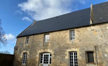 Remplacement de la toiture d'une maison à Deauville