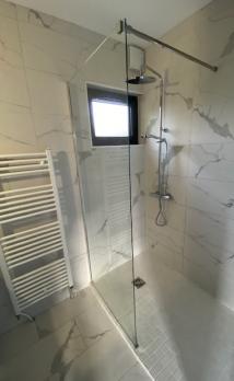 Rénovation d'une salle de bain à Honfleur