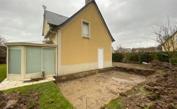 Création d'une extension d'une maison à Deauville