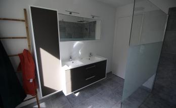 Installation d'une vasque à Deauville