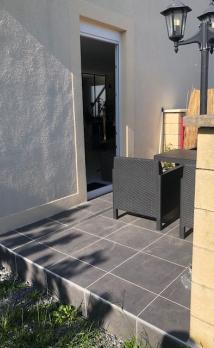 Rénovation d'une terrasse à Cabourg