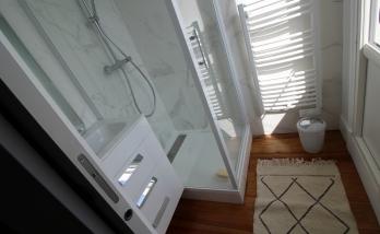 Rénovation d'une salle de bai à Deauville