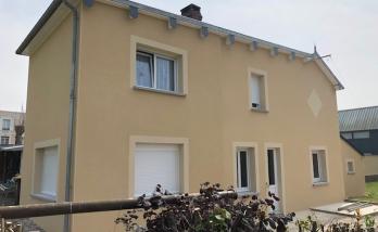 Ravalement de façade à Trouville