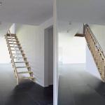 Poser une escalier escamotable à Deauville