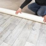 sol PVC imitation parquet bois