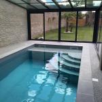 Construction d'une piscine à Deauville